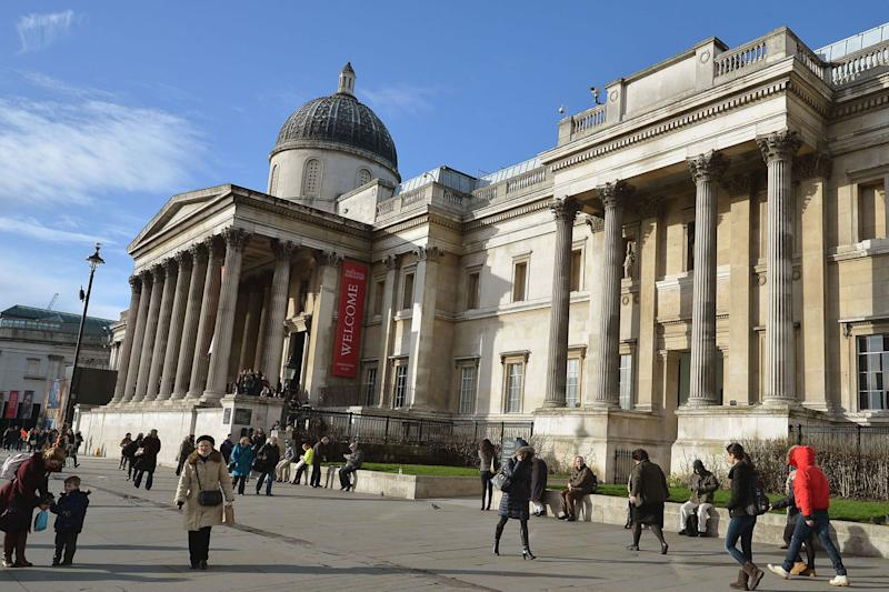 Attack: The National Gallery: John Stillwell/PA Wire