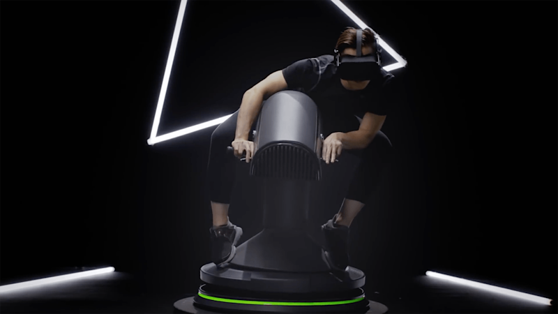 Put your mechanical bull on Craigslist and get this VR motion simulator