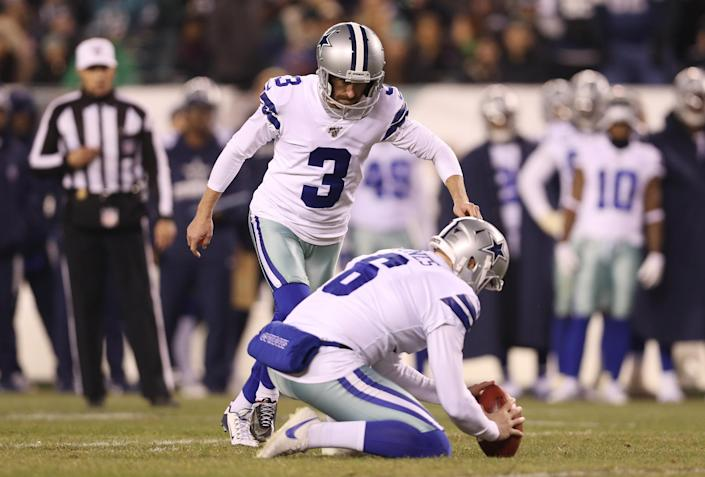 Kai Forbath came up big for the Cowboys. (Photo by Patrick Smith/Getty Images)