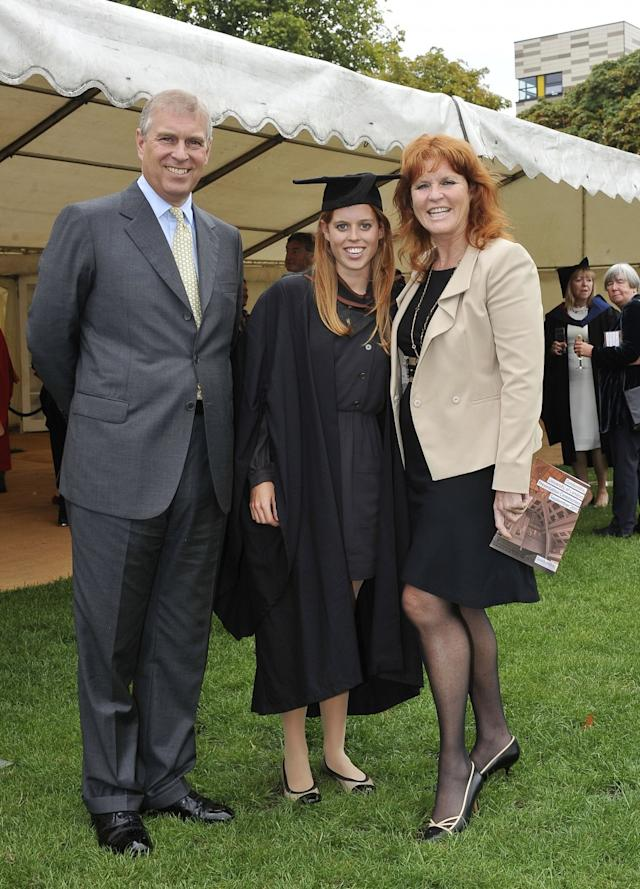 Princess Beatrice Graduation