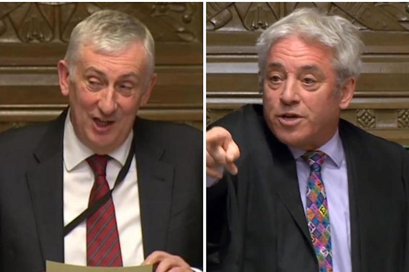 Sir Lindsay Hoyle remains the bookies' favourite to replace outgoing Speaker John Bercow