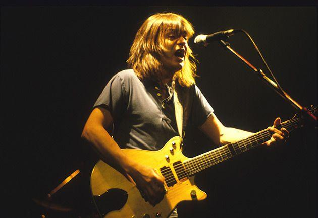 AC/DC guitarist Malcolm Young. Photo: Getty Images