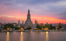 <p>Although Bangkok has become associated with booze-fuelled holidays in recent years, Thailand remains the number one destination on a young traveller's gap year schedule. <em>[Photo: Getty]</em> </p>