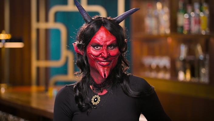 """A devilish contestant on """"Sexy Beasts."""""""