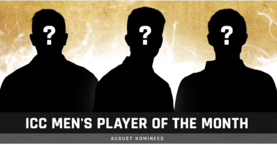 ICC Men's and Women's Player Of The Month Nominees Announced