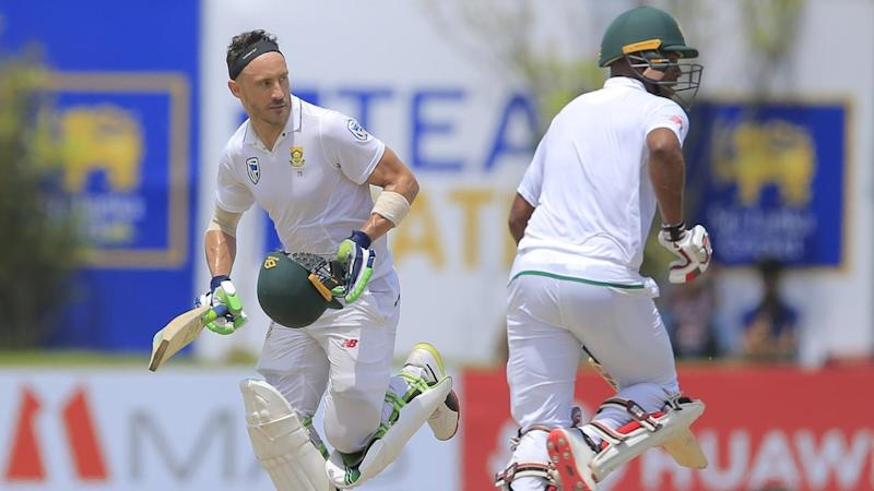 Francois Du Plessis and Vernon Philander saved South Africa from being bowled out before lunch