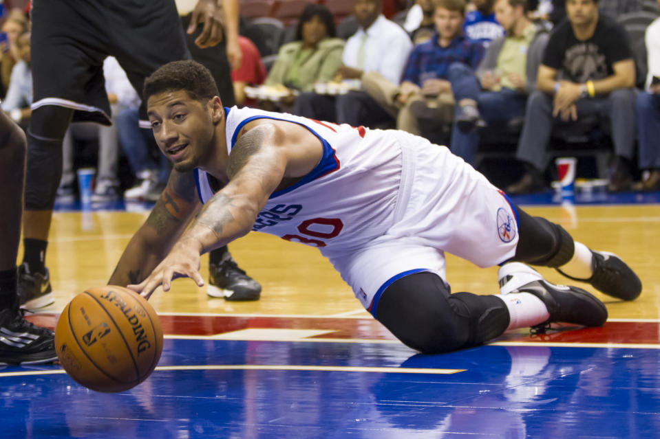 Former NBA player and Iowa State star Royce White is done with basketball. Now, he's working toward a career in the UFC. (AP/Chris Szagola)