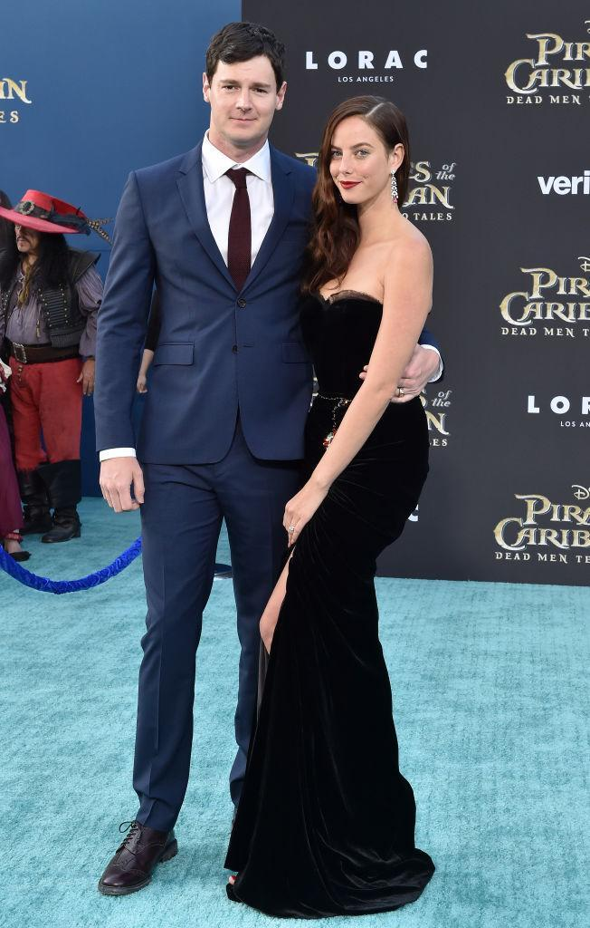 Kaya Scodelario, in Dolce & Gabbana, and Benjamin Walker (Photo: Getty Images)
