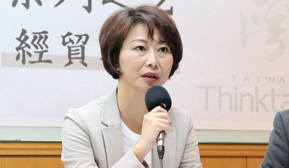 "Democratic Progressive Party lawmaker Chen Ting-fei said the constitution reflected a ""Greater China"" mentality. Photo: Facebook"