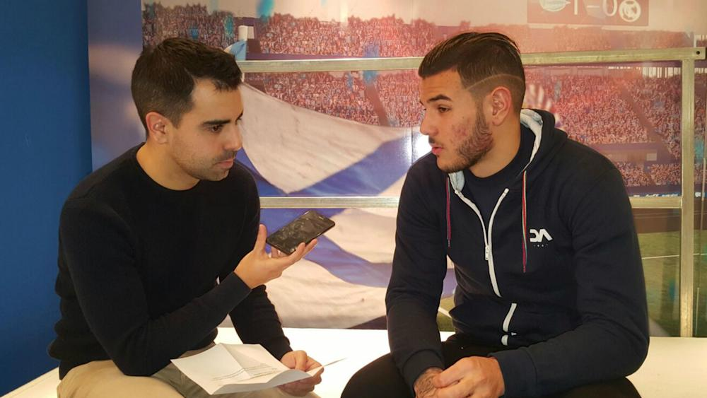 Theo Hernandez Alaves interview