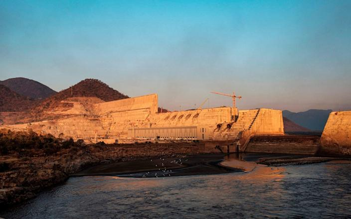 Both countries have issued threats of war ever since Ethiopia announced plans to build the dam in 2011 - AFP