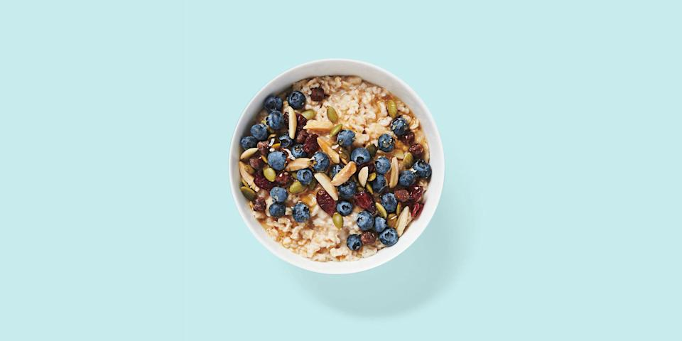 """<p>For some, Starbucks is a place to quickly grab a cup of Joe before heading to work or running an errand — for others, <a href=""""https://www.goodhousekeeping.com/health/diet-nutrition/g20975587/healthy-starbucks-drinks/"""" rel=""""nofollow noopener"""" target=""""_blank"""" data-ylk=""""slk:it's a daily destination to get your caffeine fix"""" class=""""link rapid-noclick-resp"""">it's a daily destination to get your caffeine fix</a> and so much more. But like many other fast-food and fast-casual restaurants, there can be sugar, fat, and sodium bombs hiding among some of the menu items that you'd think <em>easily</em> fit <a href=""""https://www.goodhousekeeping.com/health/diet-nutrition/a35217200/best-diets-2021/"""" rel=""""nofollow noopener"""" target=""""_blank"""" data-ylk=""""slk:into your diet of choice."""" class=""""link rapid-noclick-resp"""">into your diet of choice.</a> Amid the café's bakery case and grab-and-go section, there are more than a few hidden gems that remain super tasty <a href=""""https://www.goodhousekeeping.com/health/diet-nutrition/g28567768/best-high-protein-snacks/"""" rel=""""nofollow noopener"""" target=""""_blank"""" data-ylk=""""slk:and protein-packed"""" class=""""link rapid-noclick-resp"""">and protein-packed</a> — a coffee run that'll <em>really</em> power you through your day. Real Starbucks fans know that the café portion of the menu is <em>so </em>much more than just the store's gimmicky cake pops, after all.</p><p>With the help of <strong><a href=""""https://www.goodhousekeeping.com/author/224673/stefani-sassos/"""" rel=""""nofollow noopener"""" target=""""_blank"""" data-ylk=""""slk:Stefani Sassos, MS, RD, CDN"""" class=""""link rapid-noclick-resp"""">Stefani Sassos, MS, RD, CDN</a></strong>, the <strong><a href=""""https://www.goodhousekeeping.com/health/a40988/the-good-house-keeping-food-nutrition-brand-lab/"""" rel=""""nofollow noopener"""" target=""""_blank"""" data-ylk=""""slk:Good Housekeeping Institute Nutrition Lab"""" class=""""link rapid-noclick-resp"""">Good Housekeeping Institute Nutrition Lab</a>'s registered dietitian</strong>, we've combed over Starbu"""