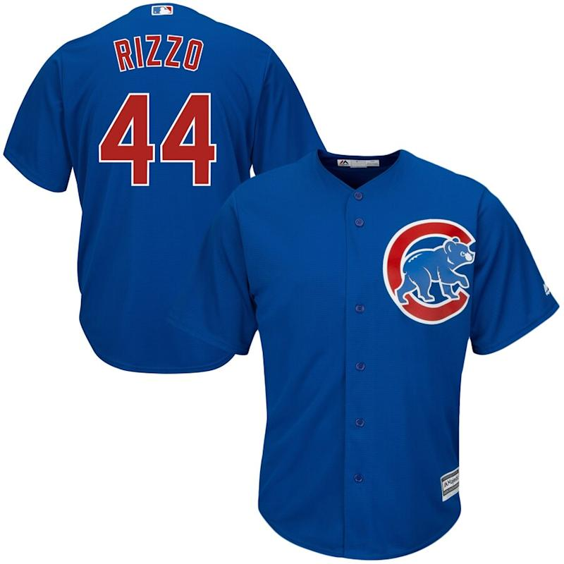 Rizzo Cubs Cool Base Player Jersey