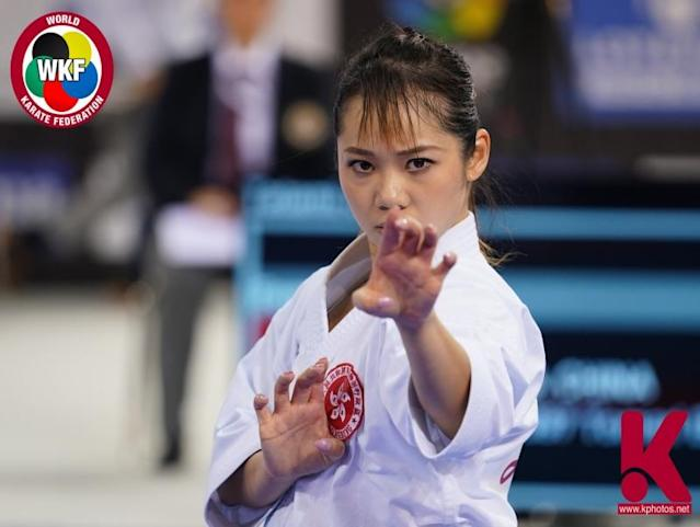 劉慕裳(Photo Credit:World Karate Federation Facebook)