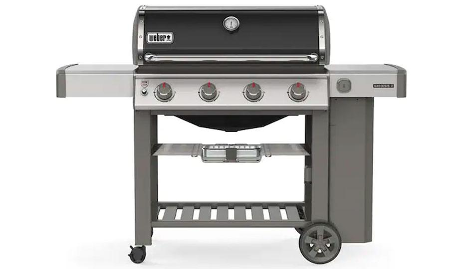 Weber is the best name in the grilling game, and this model has tons of cool features. (Photo: Lowe's)