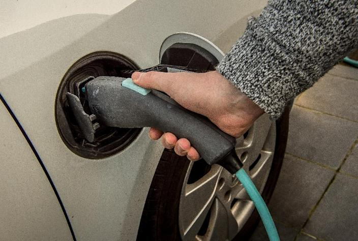 In December, Norway registered its 100,000th electric car (AFP Photo/Philippe HUGUEN)