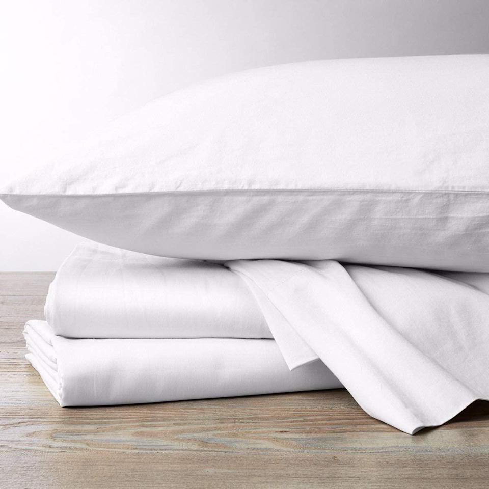 """<br><br><strong>Refinery29</strong> Jules Bedding Collection Lightweight 5 Piece Sheet Set, $, available at <a href=""""https://amzn.to/2SB96Fe"""" rel=""""nofollow noopener"""" target=""""_blank"""" data-ylk=""""slk:Amazon"""" class=""""link rapid-noclick-resp"""">Amazon</a>"""