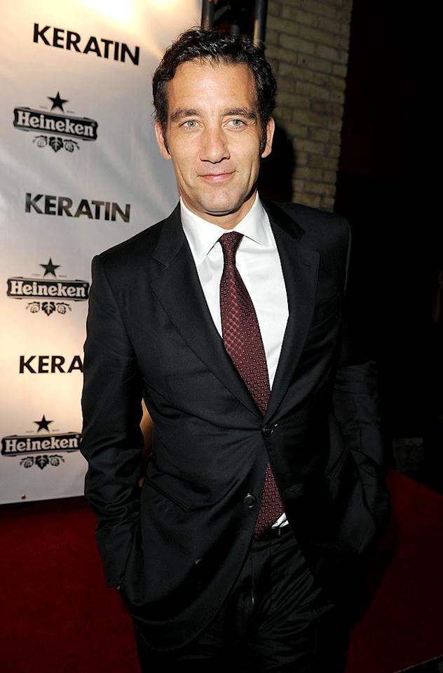 "October 3: Clive Owen turns 46 Jason Merritt/<a href=""http://www.gettyimages.com/"" target=""new"">GettyImages.com</a> - September 10, 2010"