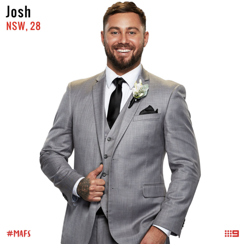 married at first sight groom josh sydney