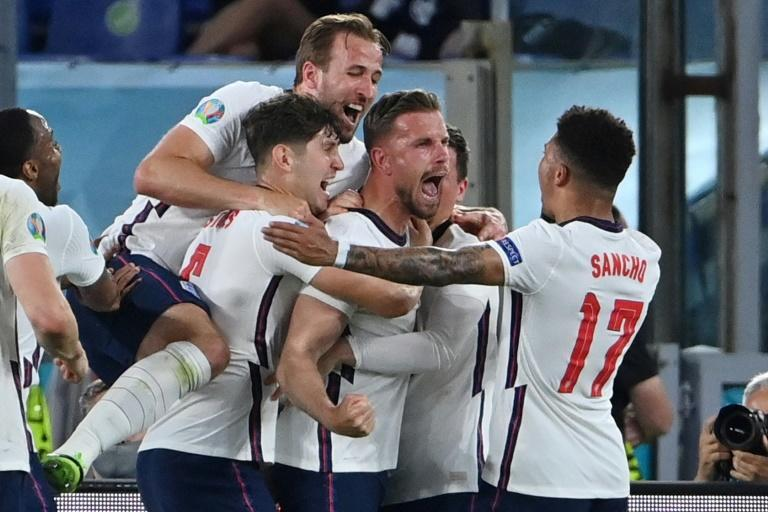 England will spark wild celebrations if they can beat Denmark