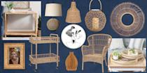 <p><em>House Beautiful</em>'s Style Director—and stylish man-about-town—Robert Rufino is obsessed with rattan. From tables to lights, rattan is a versatile material that adds an organic touch wherever you use it. That is to say, it may be the ultimate summer material! And the best part? It's not always expensive. Here, 10 rattan products from your new favorite shop Kirkland's that will add a great summer touch to your home. </p>