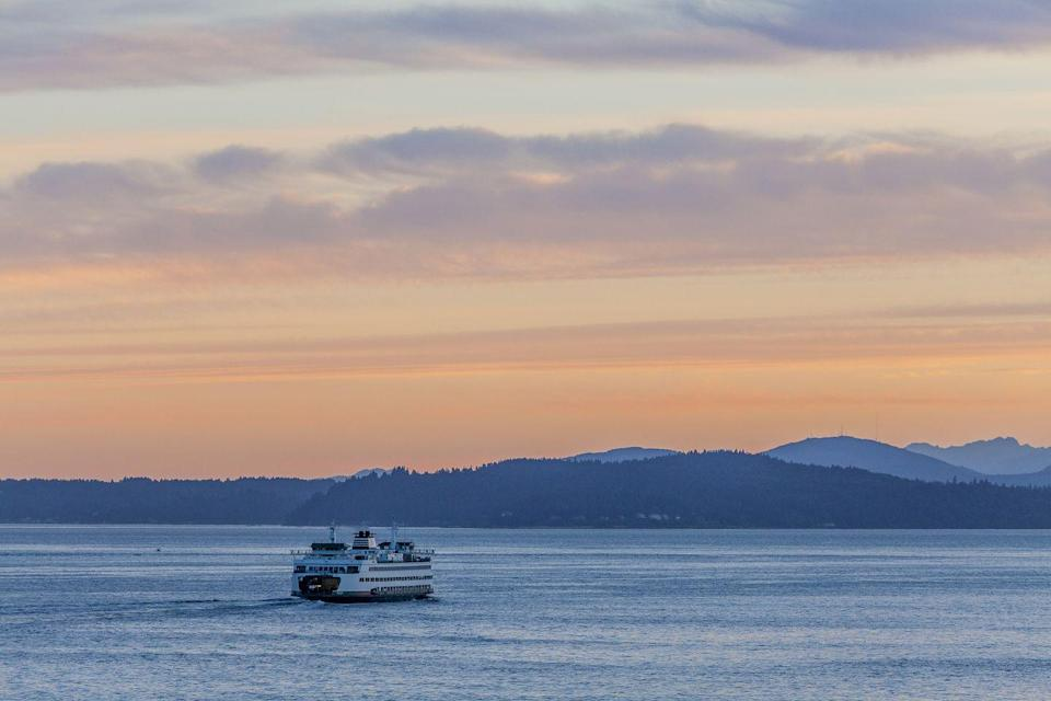 """<p>You might know Seattle for its popular ferry boat rides, but the entire state of Washington actually operates the <a href=""""https://www.wsdot.wa.gov/Ferries/yourwsf/ourfleet/"""" rel=""""nofollow noopener"""" target=""""_blank"""" data-ylk=""""slk:largest ferry system"""" class=""""link rapid-noclick-resp"""">largest ferry system</a> in the United States. In fact, over 21 ferries carry nearly 24 million passengers every year! </p>"""