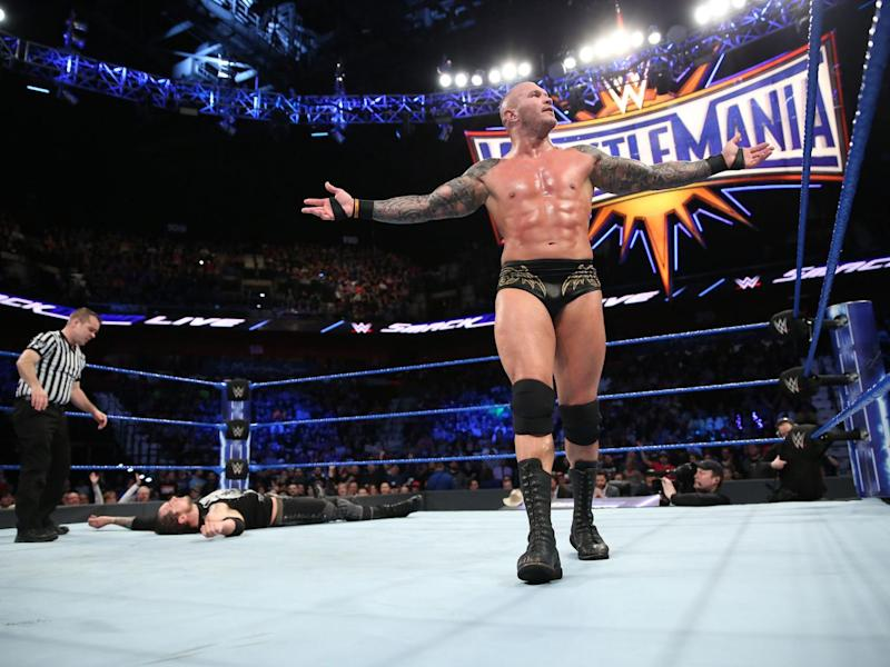 Randy Orton takes on Bray Wyatt after winning the Royal Rumble and turning on his partner (Getty)