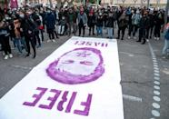 Hundreds of artists have signed a petition demanding Hasel's release