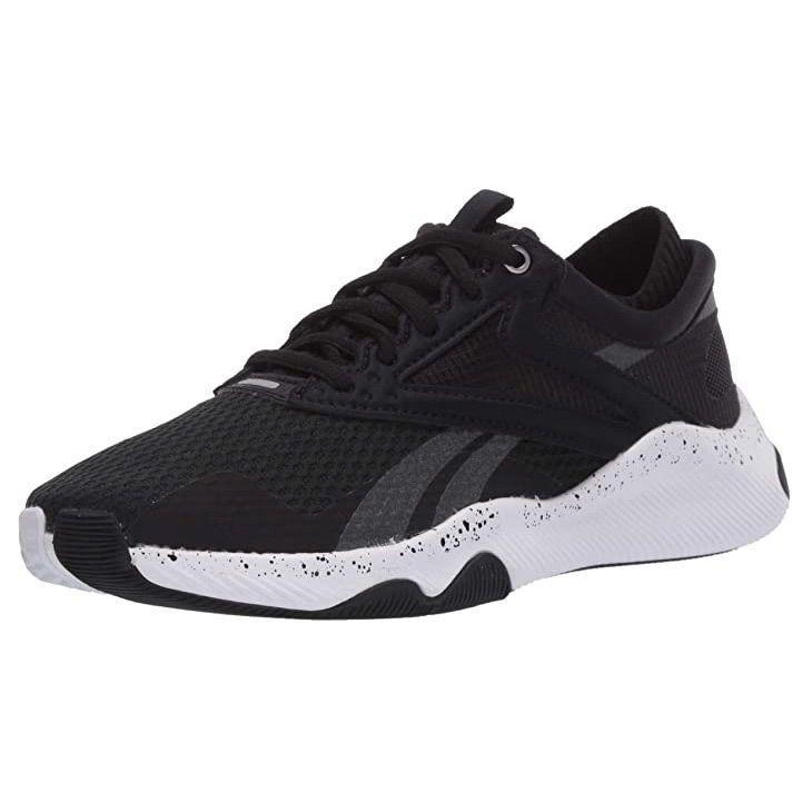 """<p><strong>Reebok</strong></p><p>amazon.com</p><p><strong>$89.96</strong></p><p><a href=""""https://www.amazon.com/dp/B07T79VTNC?tag=syn-yahoo-20&ascsubtag=%5Bartid%7C10055.g.32379201%5Bsrc%7Cyahoo-us"""" rel=""""nofollow noopener"""" target=""""_blank"""" data-ylk=""""slk:Shop Now"""" class=""""link rapid-noclick-resp"""">Shop Now</a></p><p>HIIT, high intensity interval training, is a type of exercise that involves quick bursts of intense exercise followed by active recovery that's popular among those who want to break a sweat in less time. When completing HIIT workouts, you'll need sneakers that are light and quick on your feet. Reebok designed the HIIT TR Cross Trainer specifically for high impact exercise with <strong>lightweight EVA foam cushioning perfect for burpees, jumps, and squats. </strong></p>"""