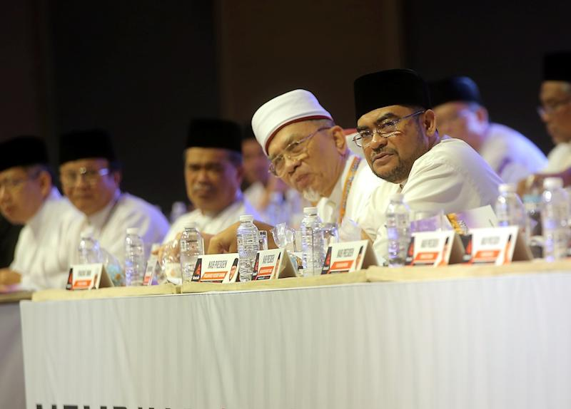 Datuk Seri Mujahid Yusof Rawa attends the Amanah National Convention in Ipoh December 14, 2018. — Picture by Farhan Najib