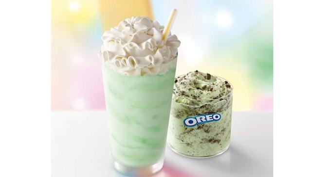 The Shamrock Shake is back! Here's why we're so excited. (Photo: McDonald's)