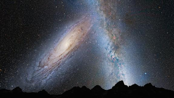 Our Milky Way galaxy is truly warped