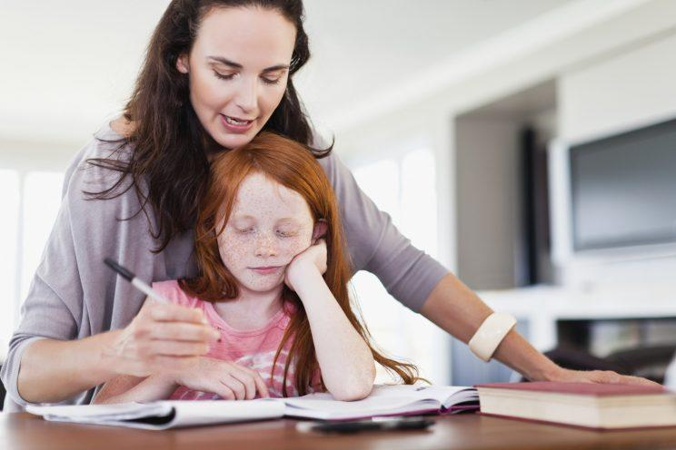 Parents often end up doing children's homework [Photo: Getty]
