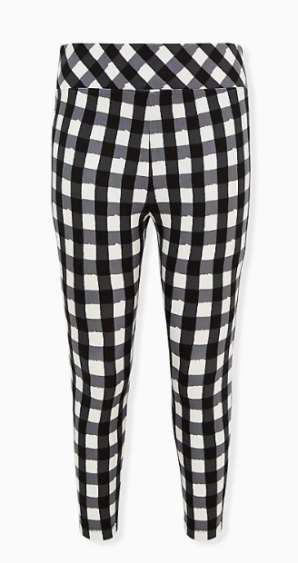 Black & White Plaid Pixie Pant (Photo via Torrid)