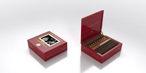 Each cigar is sold by Boxes of 20, with the addition of a sampler box that includes 2 samples of each of the seven sizes, totaling to a Box of 14 cigars.