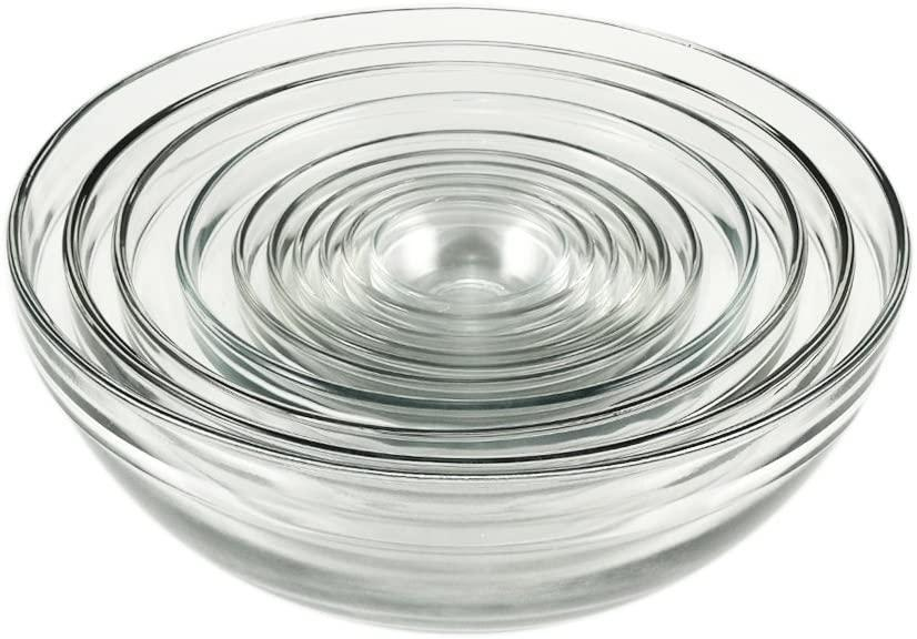 """""""Mixing bowls are perfect for keeping your ingredients organized—and they make for super easy prep and cleanup,"""" says Roe. $30, Amazon. <a href=""""https://www.amazon.com/Anchor-Hocking-Glass-Bowl-Set/dp/B0015QV5QQ"""" rel=""""nofollow noopener"""" target=""""_blank"""" data-ylk=""""slk:Get it now!"""" class=""""link rapid-noclick-resp"""">Get it now!</a>"""