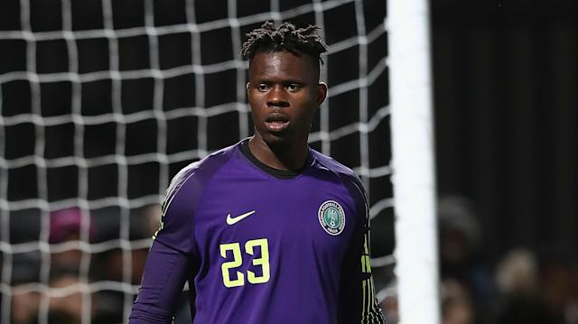 The 19-year-old's error handed the Pirates a first-half equaliser before Onyekuru and Simon's strikes rescued the day for the Super Eagles