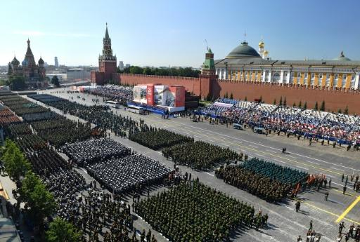 Forced to postpone Russia's traditional May 9 Victory Day celebrations by the coronavirus pandemic, Putin rescheduled the parade for just a week ahead of a July 1 vote on controversial constitutional reforms