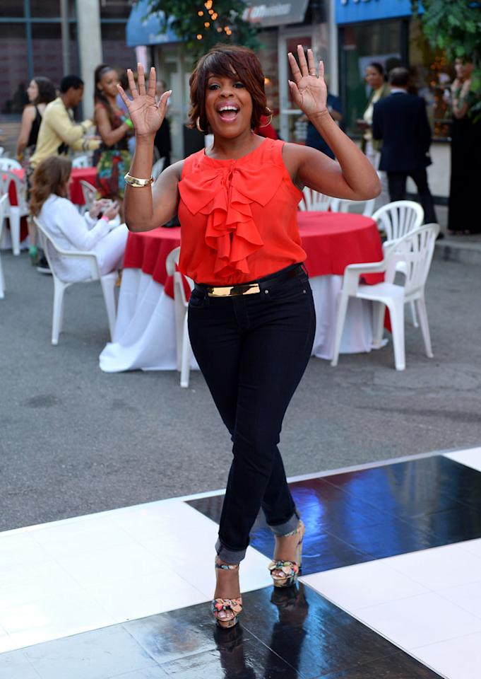 "Niecy Nash attends the after party for TV Land's ""Hot in Cleveland"" Live Show on June 19, 2013 in Studio City, California."