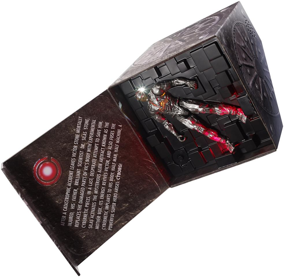<p>This 12-inch figure features movie-based sound and light FX. (Photo: Mattel) </p>