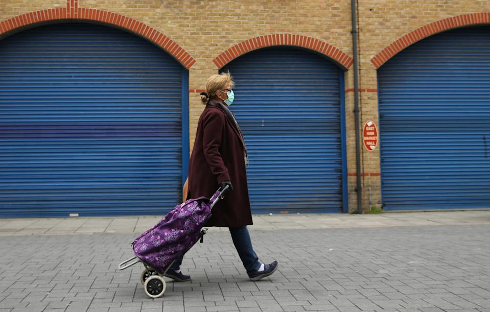 Closed shops in East Ham, east London. Photo: PA