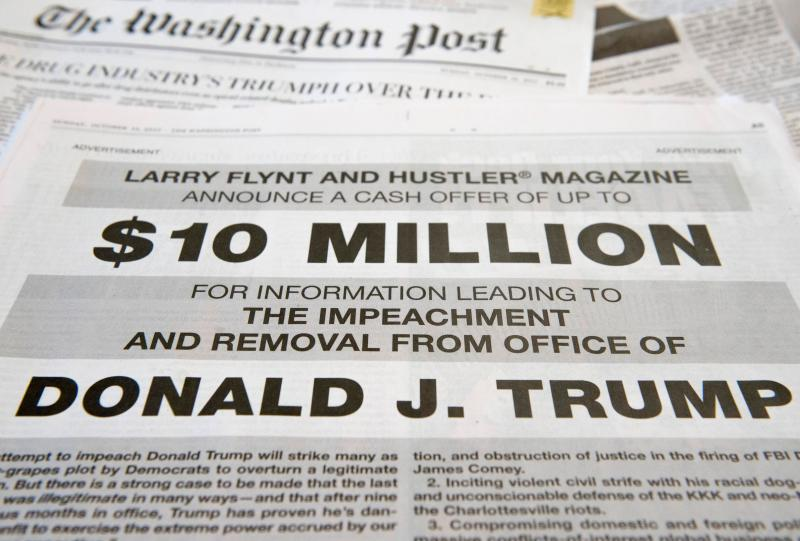 Impeaching Trump: Inside Larry Flynt's Investigation To Take Down The President