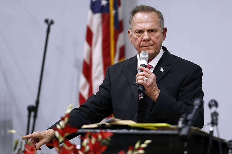 Alabama's Moore Slips Out of Poll Lead for First Time in Race