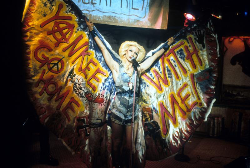 John Cameron Mitchell performs in a scene from the film 'Hedwig & the Angry Inch,' 2001. (Photo: Fine Line Features/Getty Images)