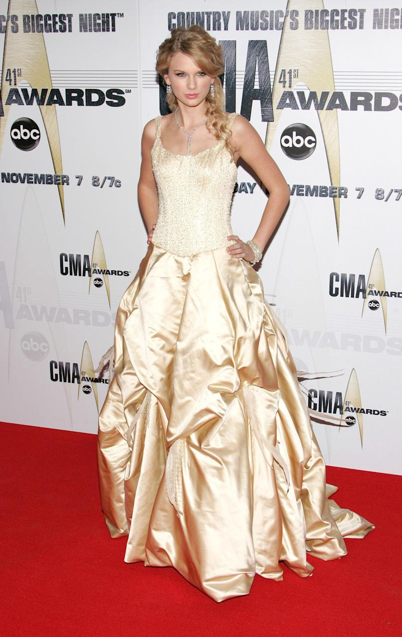 At the 41st Annual CMA Awards on Nov. 7, 2007, in Nashville.