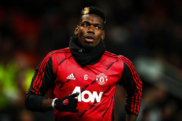 Paul Pogba of Manchester United. (Photo by Robbie Jay Barratt - AMA/Getty Images)