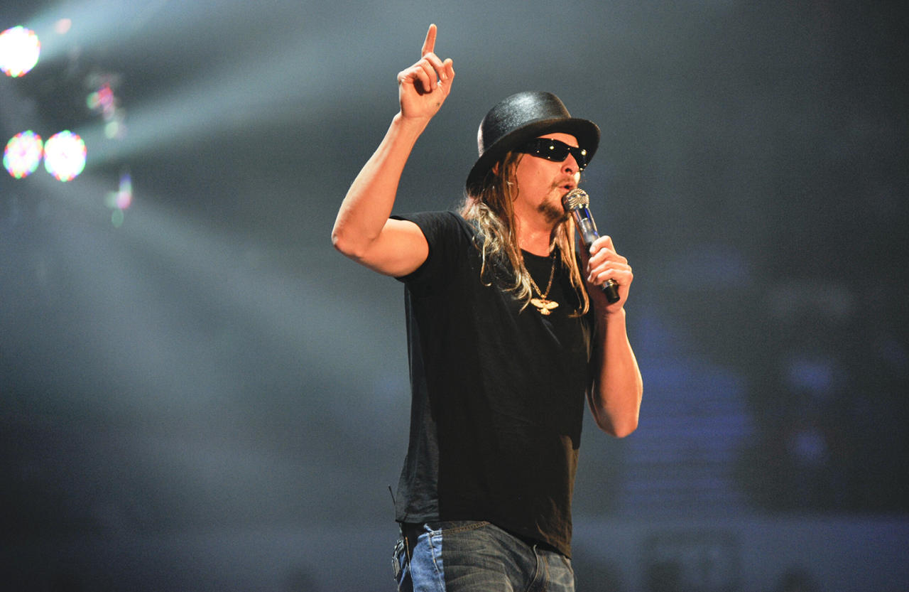 "Kid Rock Kid Rock, a 2004 Super Bowl performer, was actually named Robert James Ritchie. He regrets changing it to Kid Rock, ""the worst name in the world,"" he said. ""Hey, it sounded like a cool rap name when I was 16. But it stuck and now it's me. I'll be an 80-year-old man -- 'call me the Kid.'"""