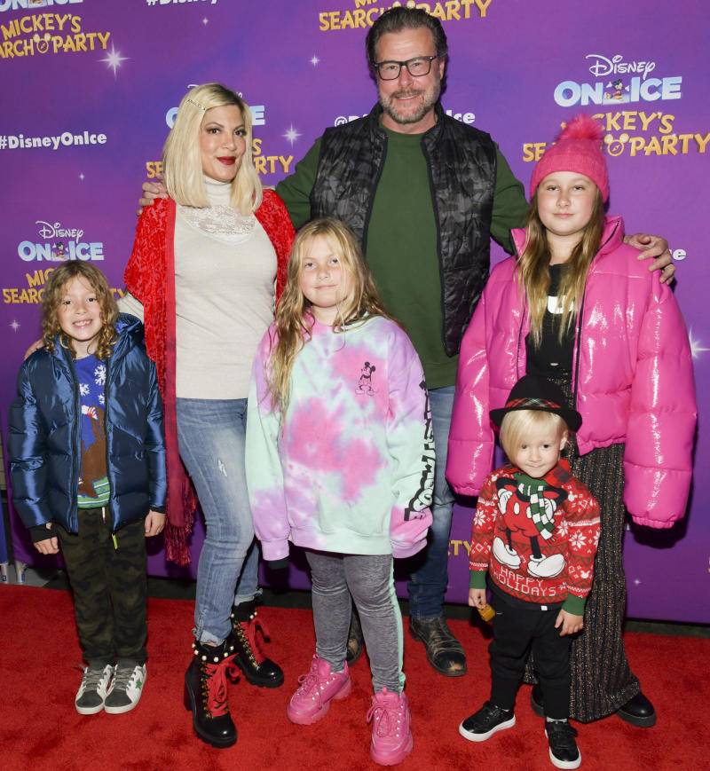 Tori Spelling is fighting back against internet trolls who are accusing the actress of using her children to make money. (Photo: Rodin Eckenroth/Getty Images)