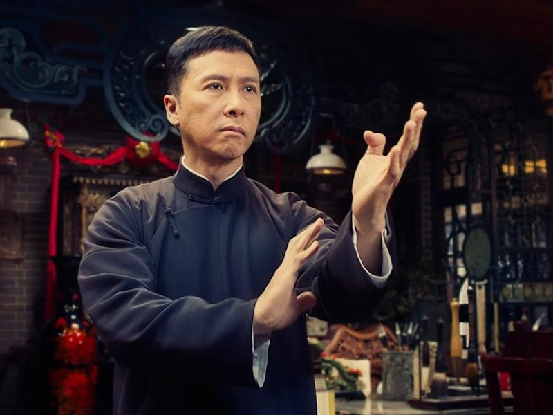 Donnie Yen gets his stuntmen to show off some impressive fighting moves in his new video challenge.
