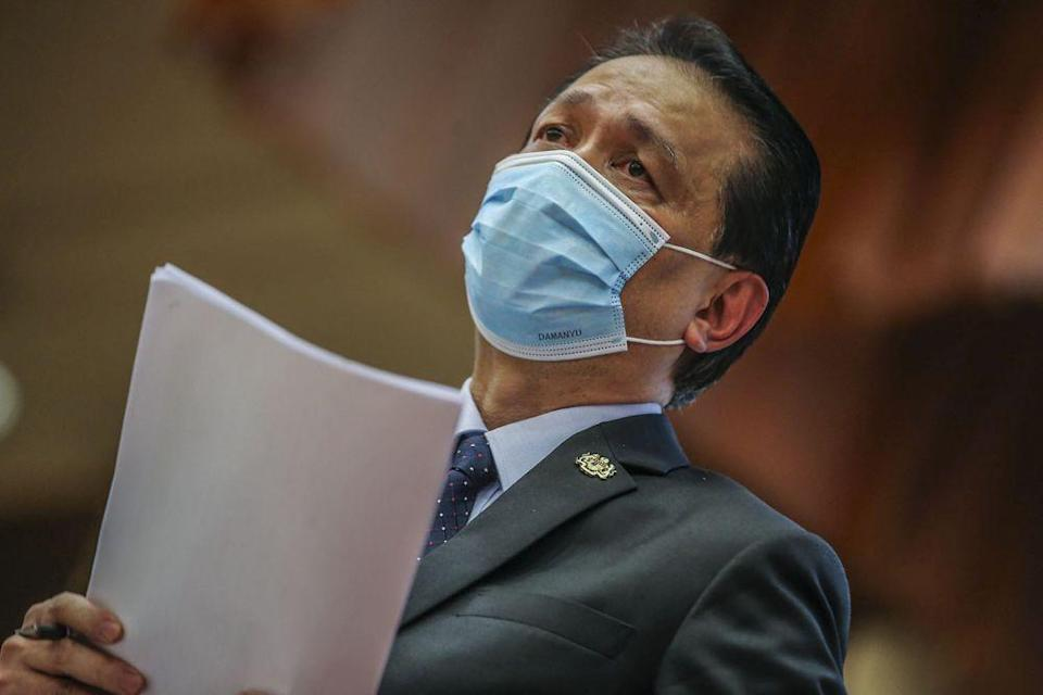 Dr Noor Hisham said private hospitals have been doing their part to help the government in fighting Covid-19 with 112 private hospitals currently offering their services to treat patients. — Picture by Hari Anggara